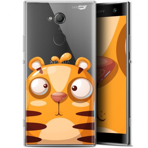 "Carcasa Gel Extra Fina Sony Xperia XA2 ULTRA (6"") Design Cartoon Tiger"