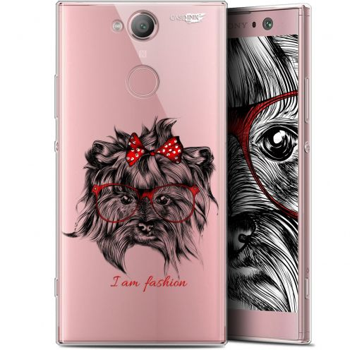 "Carcasa Gel Extra Fina Sony Xperia XA2 (5.2"") Design Fashion Dog"