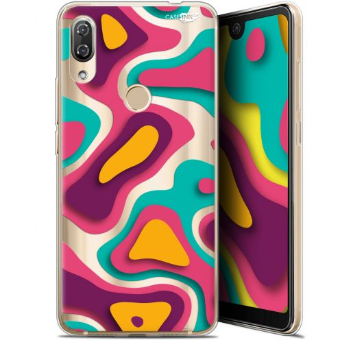 "Carcasa Gel Extra Fina Wiko View 2 Pro (6"") Design Popings"