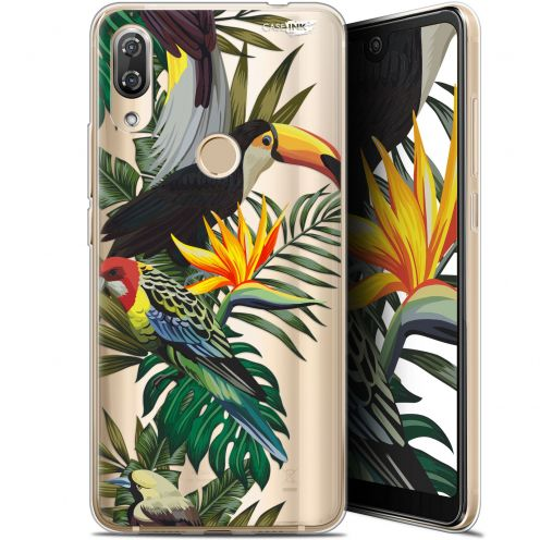 "Carcasa Gel Extra Fina Wiko View 2 Pro (6"") Design Toucan Tropical"