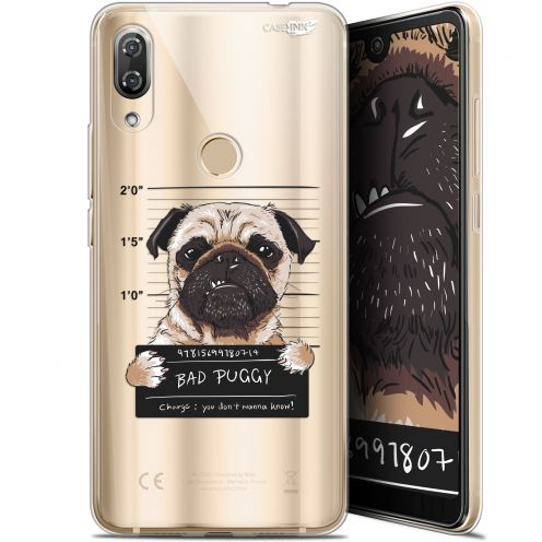 "Carcasa Gel Extra Fina Wiko View 2 Pro (6"") Design Beware The Puggy Dog"