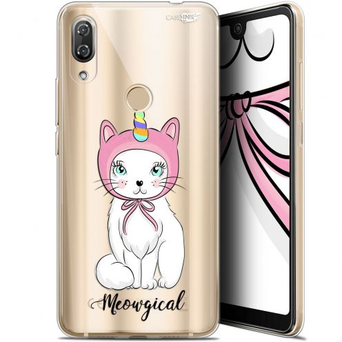 "Carcasa Gel Extra Fina Wiko View 2 Pro (6"") Design Ce Chat Est MEOUgical"