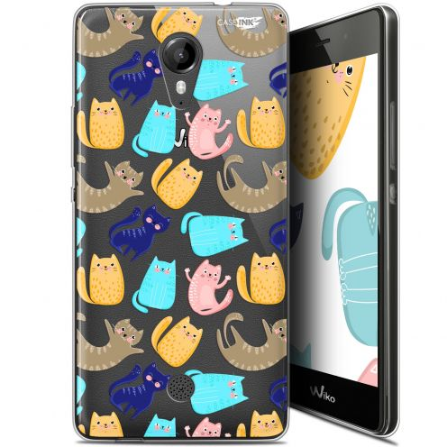 """Carcasa Gel Extra Fina Wiko Tommy (5"""") Design Chat Danse"""