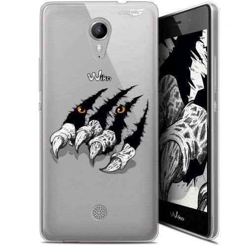 """Carcasa Gel Extra Fina Wiko Tommy (5"""") Design Les Griffes"""