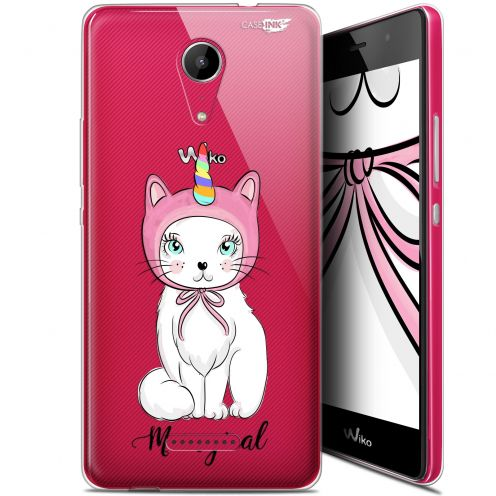"""Carcasa Gel Extra Fina Wiko Tommy 2 (5"""") Design Ce Chat Est MEOUgical"""