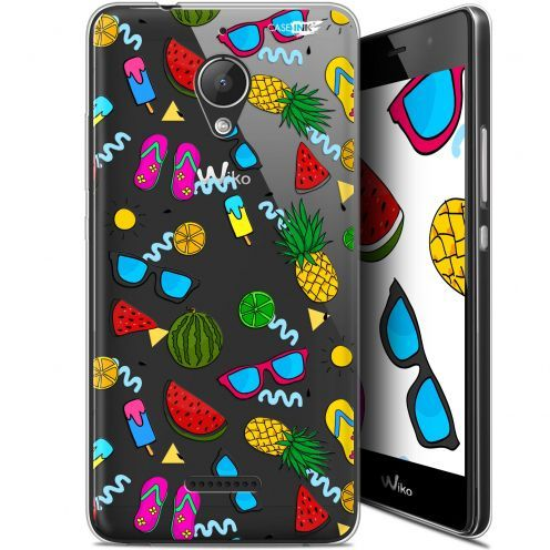 """Carcasa Gel Extra Fina Wiko Tommy 2 Plus (5.5"""") Design Summers"""