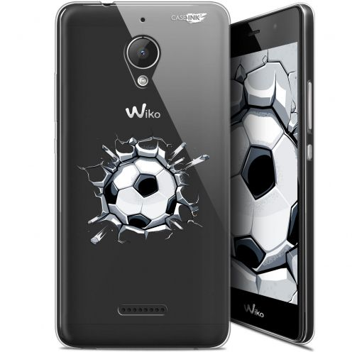 "Carcasa Gel Extra Fina Wiko Tommy 2 Plus (5.5"") Design Le Balon de Foot"