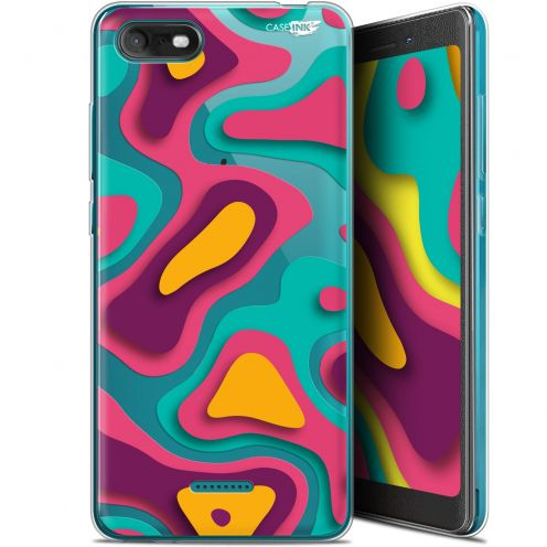 "Carcasa Gel Extra Fina Wiko Tommy 3 (5.45"") Design Popings"