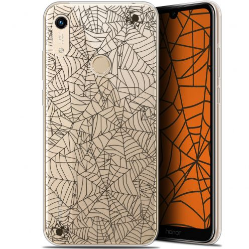 "Carcasa Gel Extra Fina Huawei Honor 8A (6.1"") Halloween Spooky Spider"