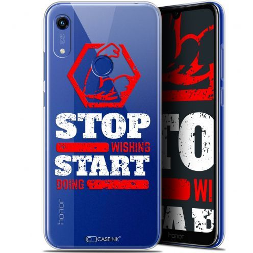 """Carcasa Gel Extra Fina Huawei Honor 8A (6.1"""") Quote Start Doing"""
