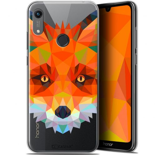 "Carcasa Gel Extra Fina Huawei Honor 8A (6.1"") Polygon Animals Zorro"