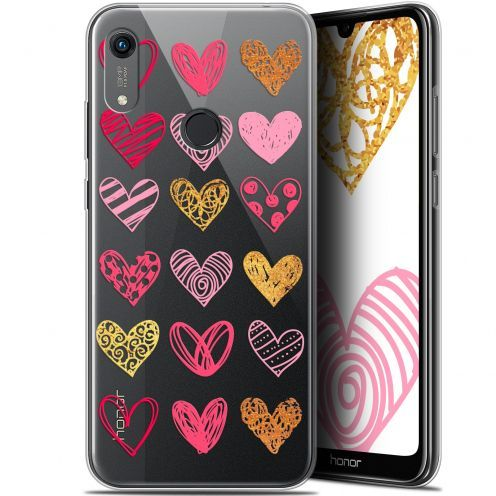 "Carcasa Gel Extra Fina Huawei Honor 8A (6.1"") Sweetie Doodling Hearts"