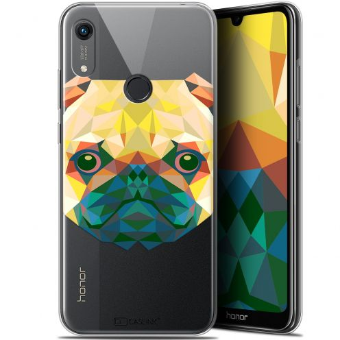 "Carcasa Gel Extra Fina Huawei Honor 8A (6.1"") Polygon Animals Perro"