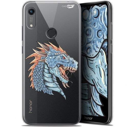"Carcasa Gel Extra Fina Huawei Honor 8A (6.1"") Design Dragon Draw"
