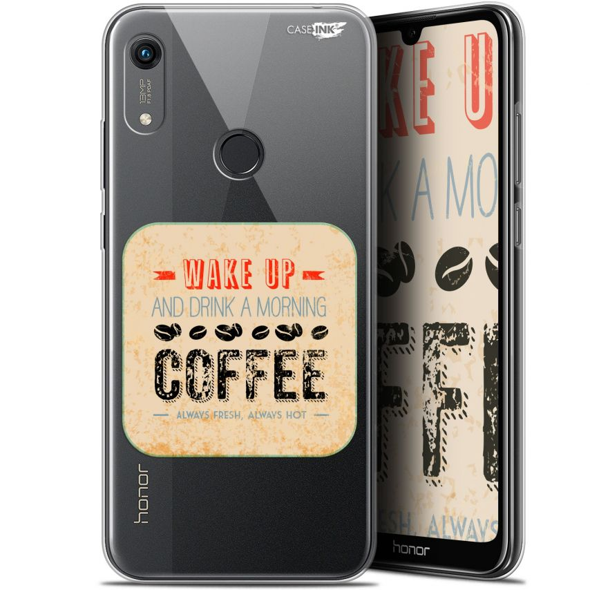 "Carcasa Gel Extra Fina Huawei Honor 8A (6.1"") Design Wake Up With Coffee"