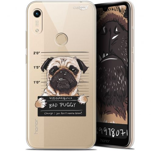 "Carcasa Gel Extra Fina Huawei Honor 8A (6.1"") Design Beware The Puggy Dog"