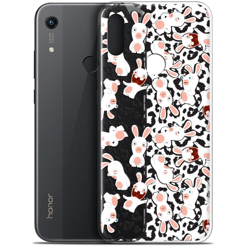 "Carcasa Gel Huawei Honor 8A (6.1"") Lapins Crétins™ Leopard Pattern"