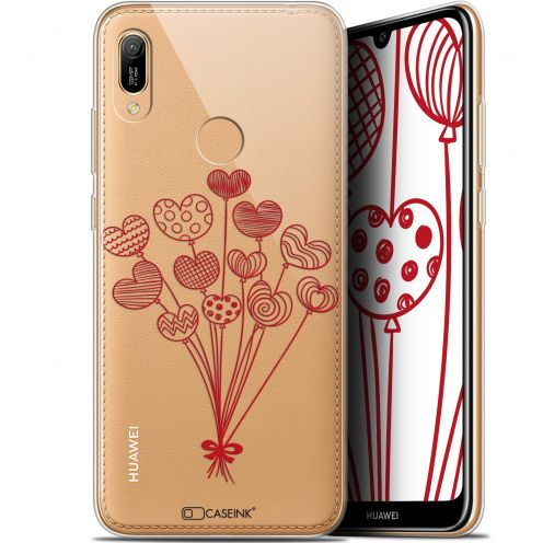 """Carcasa Gel Extra Fina Huawei Y6 2019 (6.1"""") Love Ballons d'amour"""