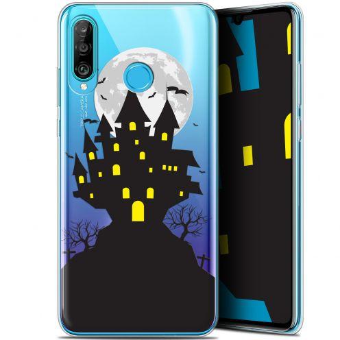 "Carcasa Gel Extra Fina Huawei P30 Lite (6.2"") Halloween Castle Scream"