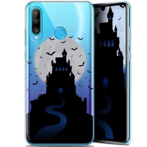 "Carcasa Gel Extra Fina Huawei P30 Lite (6.2"") Halloween Castle Nightmare"