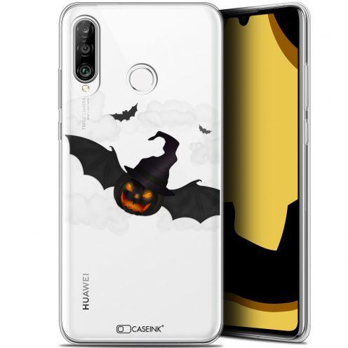 "Carcasa Gel Extra Fina Huawei P30 Lite (6.2"") Halloween Chauve Citrouille"