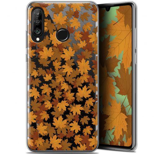 "Carcasa Gel Extra Fina Huawei P30 Lite (6.2"") Autumn 16 Feuilles"