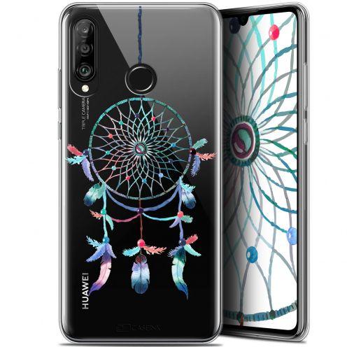 "Carcasa Gel Extra Fina Huawei P30 Lite (6.2"") Dreamy Attrape Rêves Rainbow"