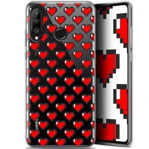 "Carcasa Gel Extra Fina Huawei P30 Lite (6.2"") Love Pixel Art"