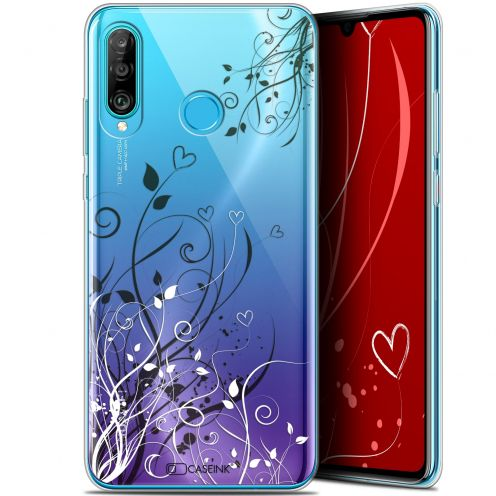 "Carcasa Gel Extra Fina Huawei P30 Lite (6.2"") Love Hearts Flowers"