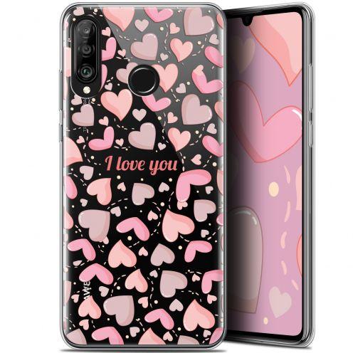"Carcasa Gel Extra Fina Huawei P30 Lite (6.2"") Love I Love You"