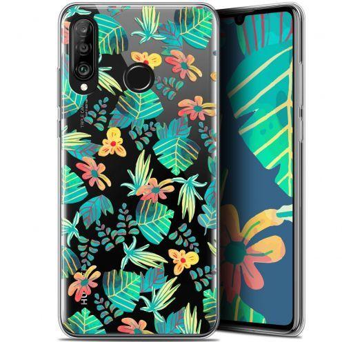 """Carcasa Gel Extra Fina Huawei P30 Lite (6.2"""") Spring Tropical"""
