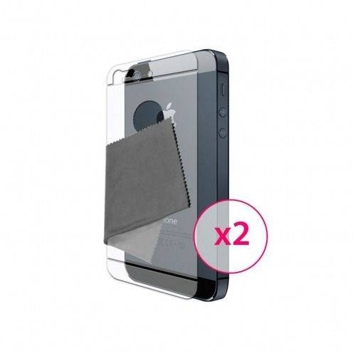 Películas protectoras espalda iPhone 5 Clubcase ® HQ 2