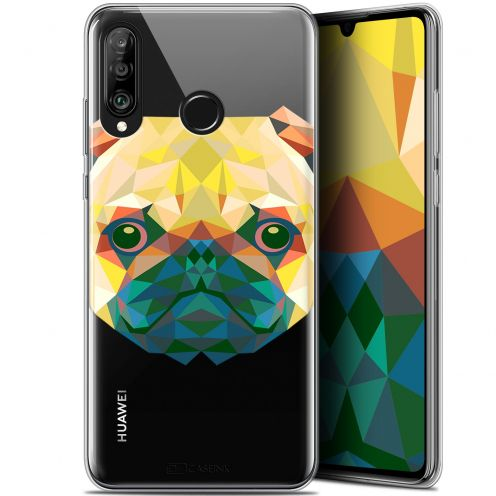 "Carcasa Gel Extra Fina Huawei P30 Lite (6.2"") Polygon Animals Perro"
