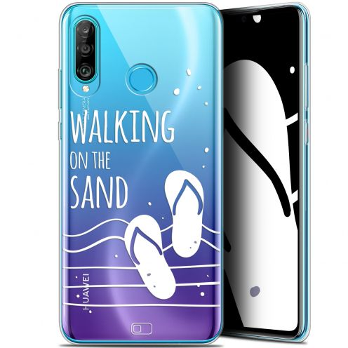 "Carcasa Gel Extra Fina Huawei P30 Lite (6.2"") Summer Walking on the Sand"