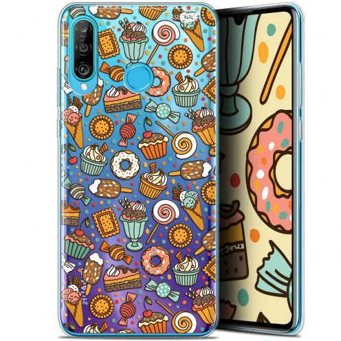 "Carcasa Gel Extra Fina Huawei P30 Lite (6.2"") Design Bonbons"