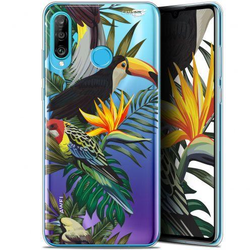 "Carcasa Gel Extra Fina Huawei P30 Lite (6.2"") Design Toucan Tropical"