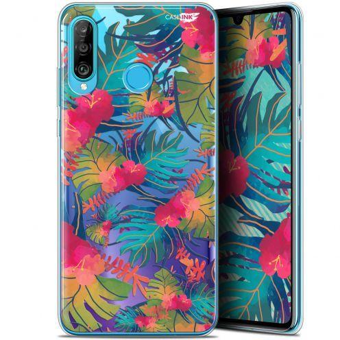 "Carcasa Gel Extra Fina Huawei P30 Lite (6.2"") Design Couleurs des Tropiques"