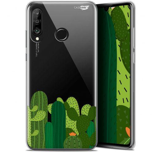 "Carcasa Gel Extra Fina Huawei P30 Lite (6.2"") Design Cactus"