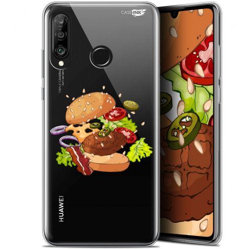 "Carcasa Gel Extra Fina Huawei P30 Lite (6.2"") Design Splash Burger"