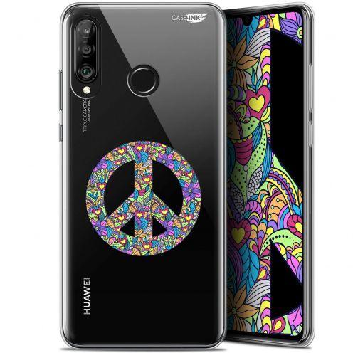 "Carcasa Gel Extra Fina Huawei P30 Lite (6.2"") Design Peace And Love"