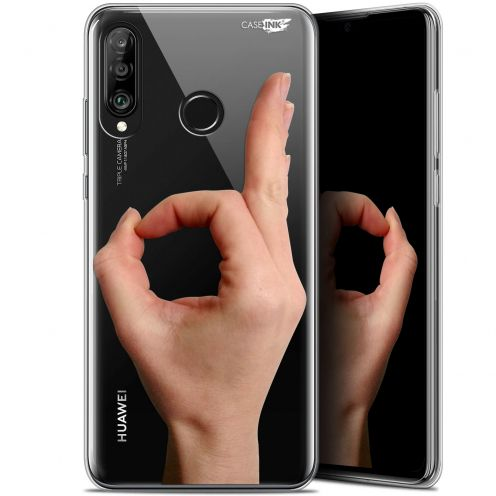 "Carcasa Gel Extra Fina Huawei P30 Lite (6.2"") Design Le Jeu du Rond"