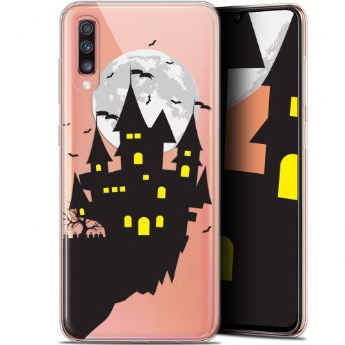 "Carcasa Gel Extra Fina Samsung Galaxy A70 (6.7"") Halloween Castle Dream"