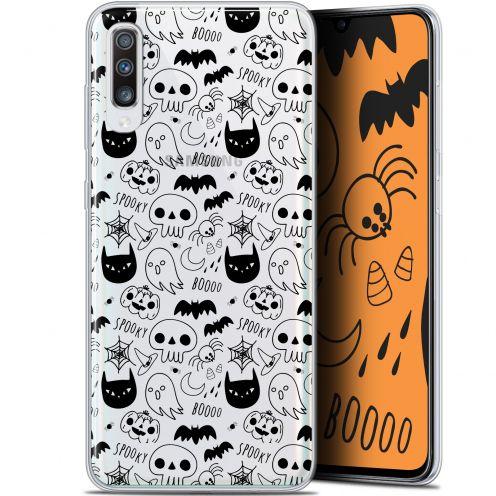 "Carcasa Gel Extra Fina Samsung Galaxy A70 (6.7"") Halloween Spooky"