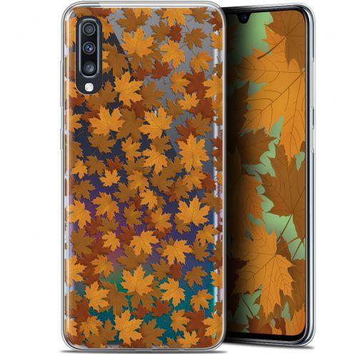 "Carcasa Gel Extra Fina Samsung Galaxy A70 (6.7"") Autumn 16 Feuilles"