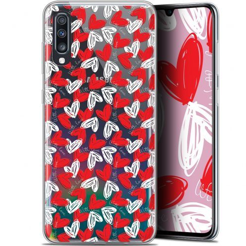 "Carcasa Gel Extra Fina Samsung Galaxy A70 (6.7"") Love With Love"