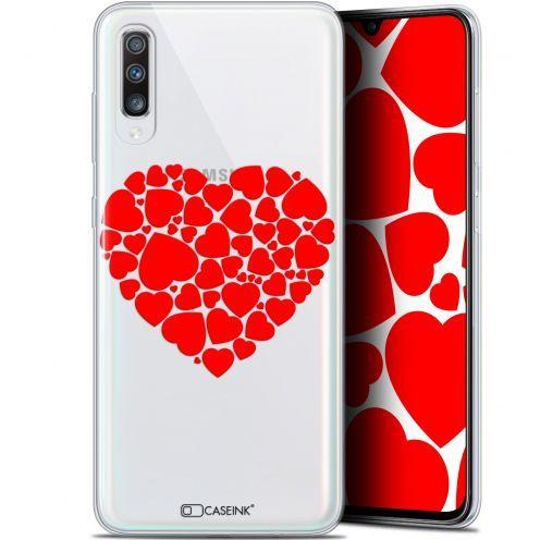 "Carcasa Gel Extra Fina Samsung Galaxy A70 (6.7"") Love Coeur des Coeurs"
