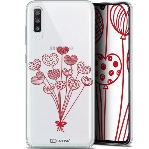 "Carcasa Gel Extra Fina Samsung Galaxy A70 (6.7"") Love Ballons d'amour"