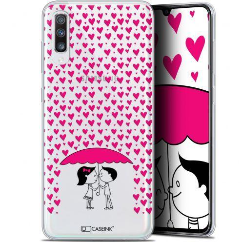"""Carcasa Gel Extra Fina Samsung Galaxy A70 (6.7"""") Love Pluie d'Amour"""