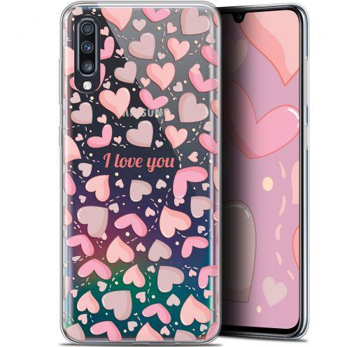 "Carcasa Gel Extra Fina Samsung Galaxy A70 (6.7"") Love I Love You"