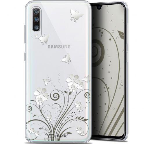 "Carcasa Gel Extra Fina Samsung Galaxy A70 (6.7"") Summer Papillons"